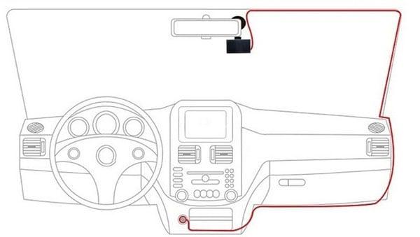 Cách lắp camera hành trình