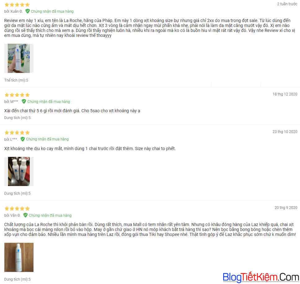 review-xit-khoang-la-roche-posay-thermal-spring-water-tren-lazada
