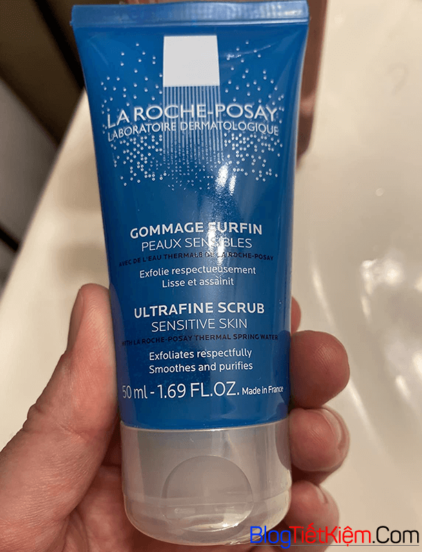 cam-nhan-ve-la-roche-posay-ultra-fine-scrub-sensitive-skin