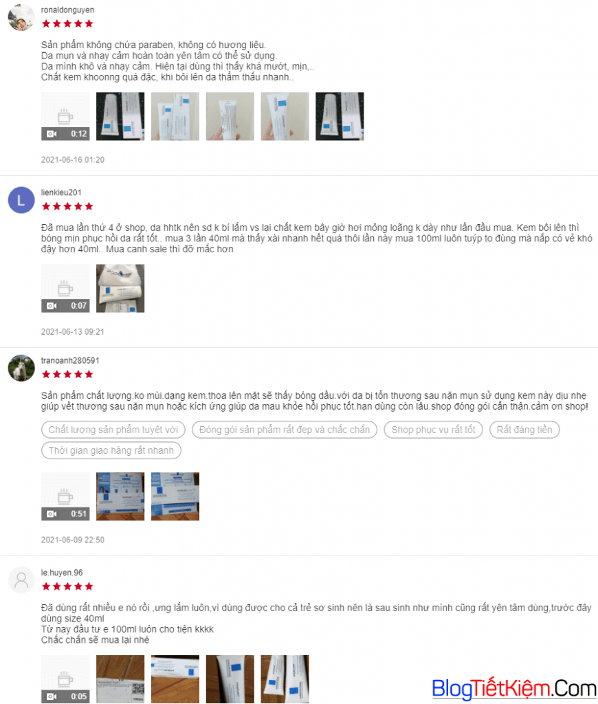 review-la-roche-posay-cicaplast-baume-b5-tren-shopee